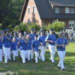 Die Parade am Sonntag Abend.
